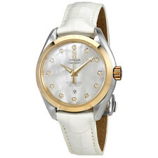 Omega Seamaster Aqua Terra Mother of Pearl Dial Ladies Watch 231.23.34.20.55.002