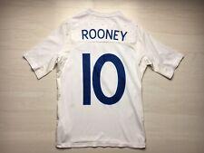 ENGLAND 2010/12 HOME FOOTBALL SOCCER SHIRT JERSEY Boy(152cm) ROONEY