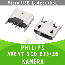 ✅ PHILIPS AVENT SCD 833/26 KAMERA Micro USB Ladebuchse Buchse Port Connector