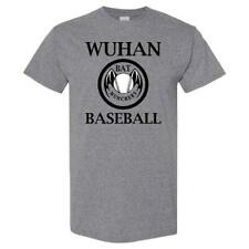 Wuhan Bat Munchers Baseball T Shirt  Size X  Large
