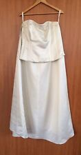 New Pronuptia Paris Wedding Bridal Gown Dress Bodice & Skirt Size 20 RRP £499