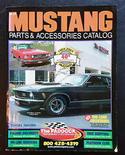 The Paddock's Mustang Parts & Accessories Catalog Covers 1964-2002