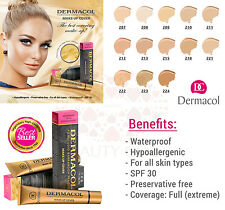 DERMACOL HIGH COVER MAKE UP FOUNDATION LEGENDARY FILM STUDIO HYPOALLERGENIC
