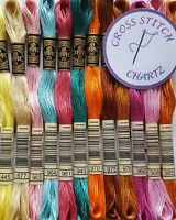 5 - 60 DMC THREADS Skeins CROSS STITCH Floss PYO PICK YOUR OWN COLOURS FREE P&P
