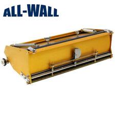 "TapeTech 12"" EasyClean™ Drywall Flat Box with EasyRoll Wheels EZ12TT *NEW*"