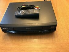 New listing Quasar Vhq-940 4-Head Omnivision Vcr Vhs Video Tape Player Remote And Cables