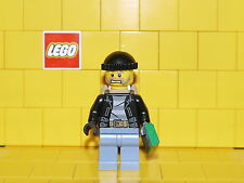 Lego City Thief / Crook / Robber with money and backpack type 2 NEW