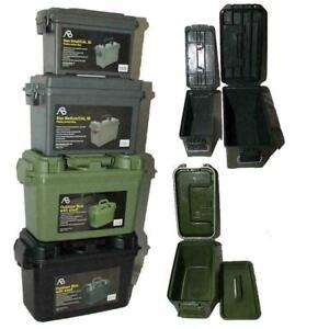 US Munitionskiste Kunststoff Ammo Box Transportbox Transportkiste abschließbar