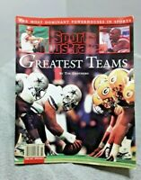 Sports Illustrated 1998 Greatest Teams Book 176 Pages