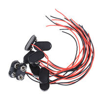10pcs Brand New 9 V Batteria Snap connettore clip Fili di piombo titolare Tipo·C