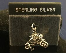 STERLING SILVER 'CINDERELLA' CARRIAGE CHARM
