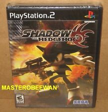 Shadow the Hedgehog Black Label New Sealed (Sony PlayStation 2, 2005) PS2