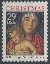 1992 USA ETATS UNIS N°2122** Noel, Tableaux, Vierge et l´Enfant,  Christmas MNH
