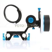 Fotga Dp500 Iii Dampen Follow Focus for 15mm Rod Dslr Rig 5D A7S A7R A7 Ii Bmcc