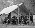 GENERAL ULYSSES S. GRANT WITH STAFF CIVIL WAR MATTHEW BRADY - 8X10 PHOTO (SP574)