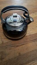 Black Kitchenaid Tea Kettle