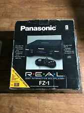rare PANASONIC FZ-1 3DO 3do BOXED COMPLETE console with games
