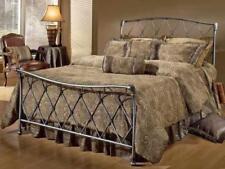 Silver Iron Beds & Mattresses