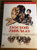DOCTOR ZHIVAGO Two-Disc Special Edition. Brand New & Factory Sealed, 2001 DVD