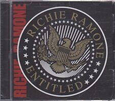New CD - Richard Ramone - Entitled
