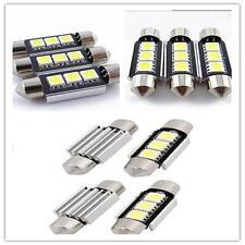White 36MM 3 LED 5050 SMD Car Reading Interior License Plate Light Lamp Bulb vEY