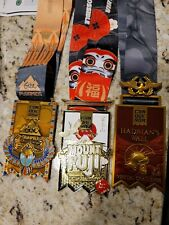The Conqueror Virtual Challenge Medals (Lot Of 4)