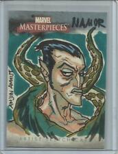 """2007 Marvel Masterpieces ANJIN ANHUT """"Sketch Card"""" of NAMOR"""
