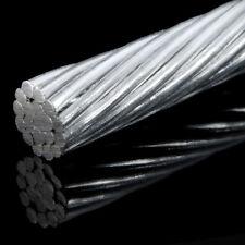 30m DRAHTSEIL 1,5mm DIN3053 1x19 verzinkt Seil Stahlseil Stahlseile TOP QUALITÄT