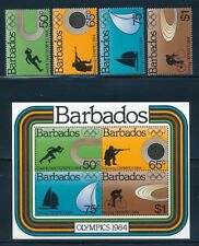 Barbados - Los Angeles Olympic Games 1984 Set - MNH