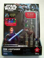 STAR WARS Science MINI LIGHTSABER Tech Lab NEW Experiment With Optics and Light