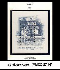 RWANDA - 1969 1st Man on the Moon / SPACE - Miniature sheet MINT NH