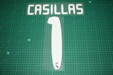 Real Madrid 10/11 #1 CASILLAS Awaykit Nameset Printing
