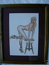 Pin-Up Art framed Picture ( Olivia DeBerardinis ) 11X14