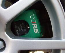 SKODA VRS High Temperature Premium Brake Caliper Calliper Decals Stickers