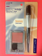 Maybelline Expert Wear Blush PINCH O' PINK WITH BONUS MAYBELLINE BLUSH BRUSH NEW