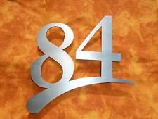 Hausnummer Edelstahl V2A  cm 3 mm! Zweistellig