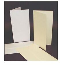 50 Dl Taille Ivoire Cartes Vierges 225gsm & Enveloppes 100gsm Fabrication