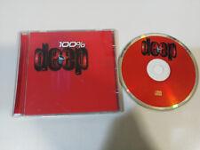 100% DEEP TECHNO HOUSE DL RALPH LAWSON JOHN ACQUAVIVA REMY CAJMETE SONIQUE - CD