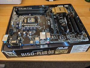 Asus B150 Plus D3 DDR3 ATX motherboard. LGA1151 Intel i7,i5,i3 6xxx-7xxx