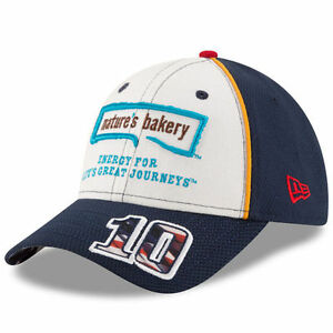 Danica Patrick 2016 New Era #10 Nature's Bakery American Salute Hat FREE SHIP!