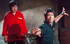 Bruce lee Canvas Print  AUTOGRAPH SIGNED kung fu martial arts movie wing chun