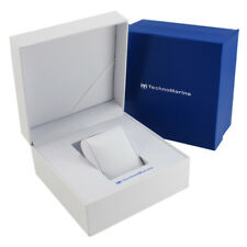 NEW LOT OF 6 GENUINE LATEST STYLE TECHNOMARINE BIG SIZE WATCH OUTER & INNER BOX