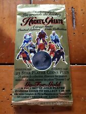 0ne 1996 NHLPA limited edition coin collection of hockey greats 25 star...