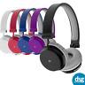 KitSound Metro Wireless Bluetooth On-Ear Headphones Black White Red Blue Purple