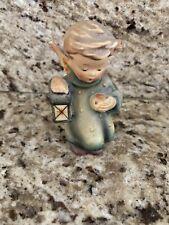 Hummel Angel Boy Figurine Holding Lantern and Apple