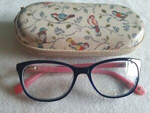 Cath Kidston 04 blue / floral glasses frames. With case.