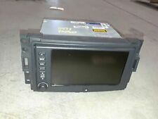 06-07 Corvette C6 Am/Fm Navigation Cd Player Stereo Nav Satellite Radio Aa6477