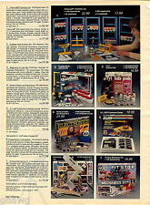 1984 ADVERT Toy GI Joe Electronics Command Center Logikit Pit Stop Machanics Kit