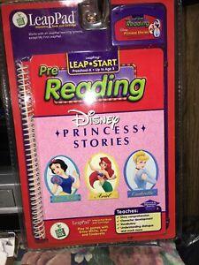 LeapFrog Leap Start Pre Reading Disney Princess Stories New