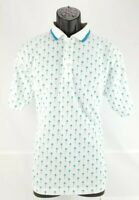 Vintage Chip Beck Collection Men's Polo Golf Shirt Size Large White Golf T